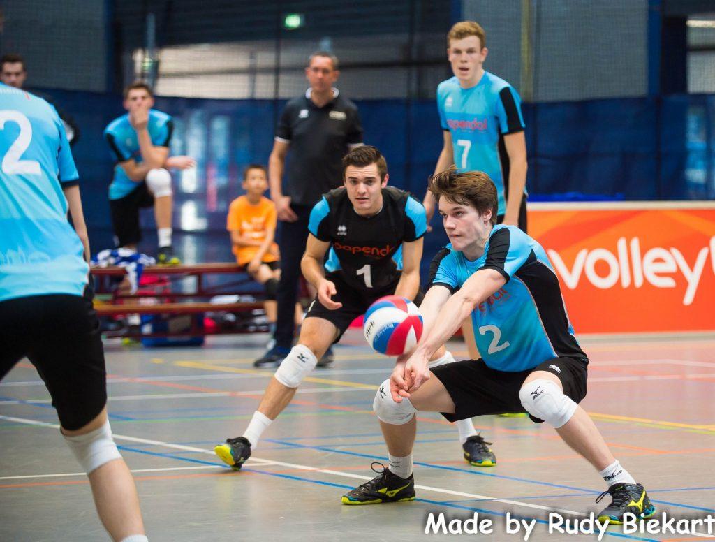 Laatste drie eredivisiewedstrijden Talent Team Papendal