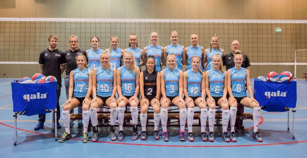 Talent Team Nevobo speelt erediviewedstrijden in Van der Knaaphal