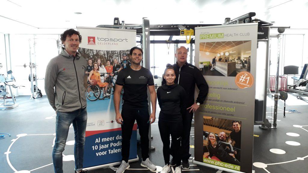 Samenwerking Premium Health Club en Topsport Gelderland