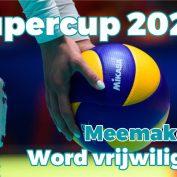 Supercup 2020. Pak die kans, word vrijwilliger!